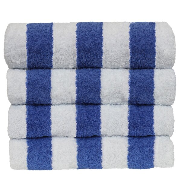 Mayfield 100% Cotton Beach Towel (Set of 4) by Bre
